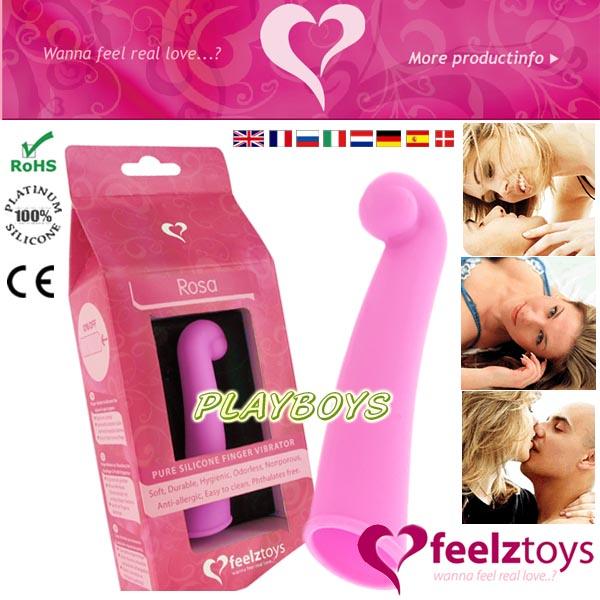 荷蘭feelztoys - Rosa 魔幻手指G點震動棒.