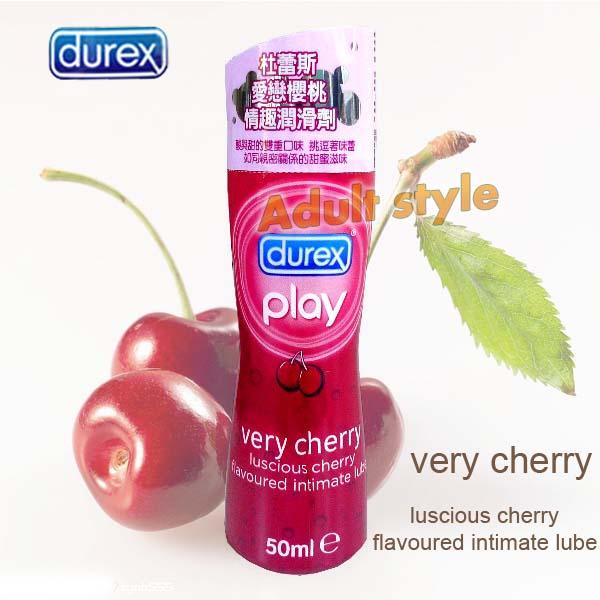 杜蕾斯愛戀櫻桃潤滑液.